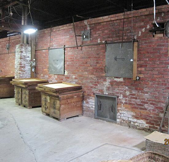 世界最古の碾茶乾燥機